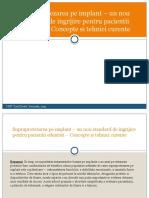 OPTIONAL - Supraprotsupraprotezare pe implanturi - prezentareezare Pe Implanturi - Prezentare