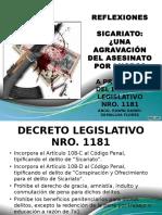 DIAPOSITIVAS SICARIATO