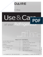 242108502 En Use & Care of your Refrigerator