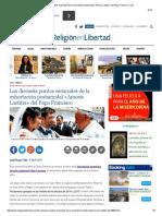 Los Dieciséis Puntos Esenciales de La Exhortación Postsinodal «Amoris Laetitia» Del Papa Francisco