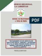 Estudio de Pre Inversion a Nivel de Perfil a.torres Araujo