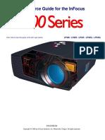 infocus lp400 service manual