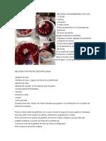 gelatinas recetas