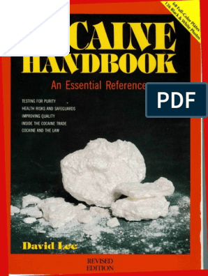 Cocaine Handbook Copyable | Coca | Cocaine