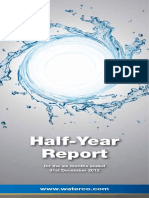 Half Yearly Report 2012