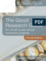 [Martyn Denscombe] the Good Research Guide