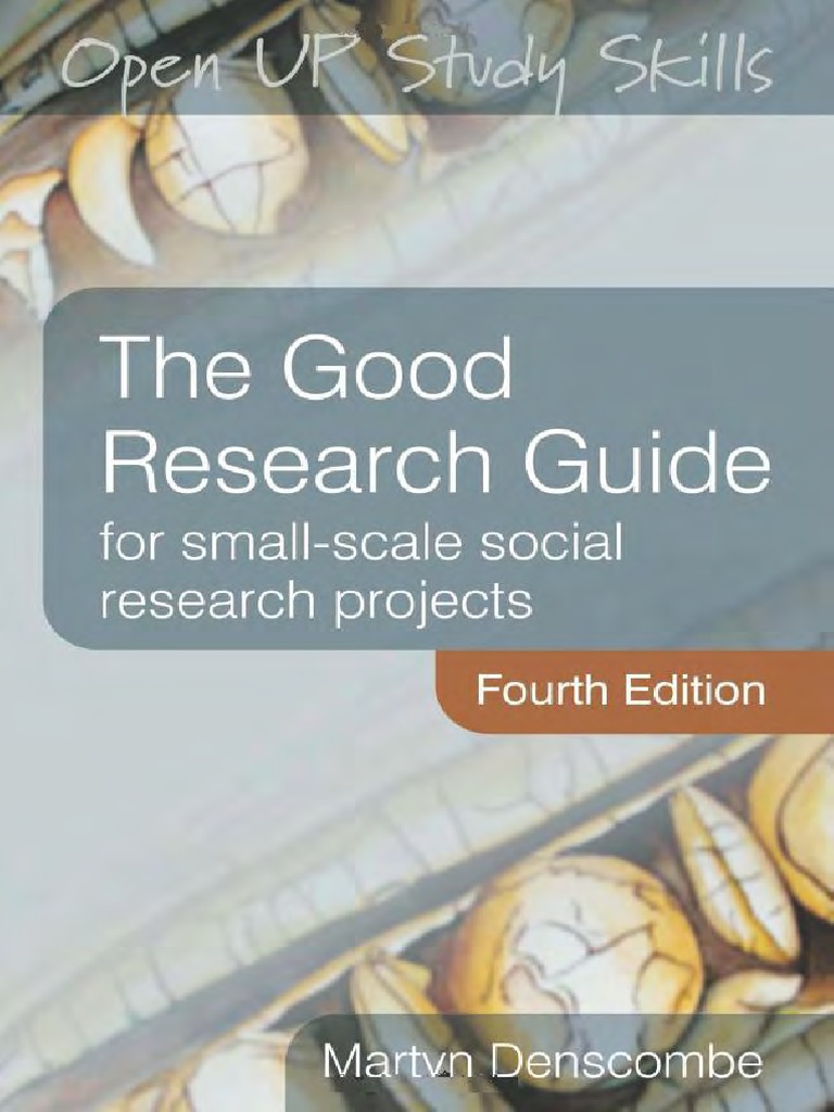 Com: the good research guide: for small-scale social.