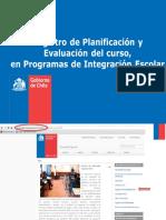 Orientaciones REGISTRO PIE 2013