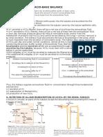 Renal Control of Acid Base Balance