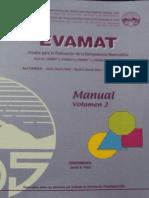 Manual Evamat Vol 2