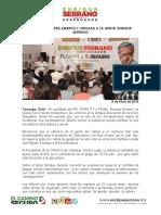 2016-04-08 MI GOBIERNO SERÁ ABIERTO Y CERCANO A LA GENTE- ENRIQUE SERRANO