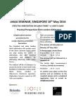 Lmaa Seminar Singapore May 2016