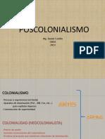 Clase Poscolonialismo