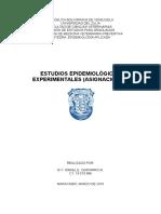 Estudios Epidemiológicos Experimentales