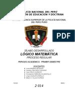 Tapa PNPde Silabo Desarrollado Matemática. Ets.puno.2014