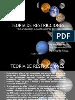 diapositivas  restricciones