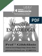 Capa da apostila de escatologia_gil