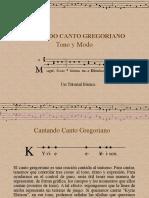 Curso de canto gregoriano