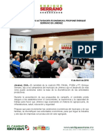 2016-04-08  DIVERSIFICAR LAS ACTIVIDADES ECONÓMICAS, PROPONE ENRIQUE SERRANO EN JIMÉNEZ