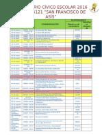 Calendario Cív Esc Sec 2016