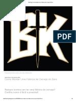BierKing_ Como Montar Uma Fábrica de Cerveja Do Zero