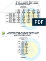 Jadwal Ujian Praktek SD & SMP
