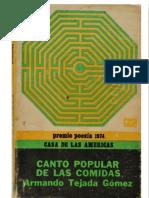 09-Canto popular de las comidas - Armando Tejada Gómez