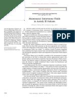 Maintenance Intravenous Fluids in Acutely Ill Patients