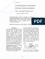 1,3-Dibromo-5,5-dimethylhydantoin, a useful reagent for ortho-monobromination ofphenols and polyphenols