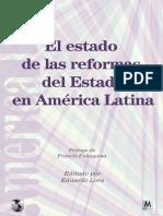 El Estado de Las Reformas Del Estado en América Latina
