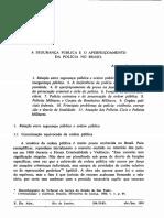 Segurança Pública Alvaro Lazzarini
