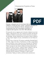Los Hermanos Calderón - Empresarios.(Ripley)