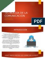 Tecnolgía de La Comunicación