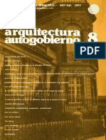 arquitectura y autogobierno