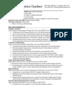 cpg resume