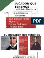 El Educador Que Tenemos