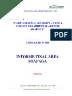 Cartografia Geologica Soapaga-c.oriental 2005