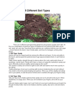 5 Different Soil Types Raymond