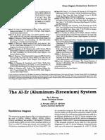 The AI-Zr (Aluminum-Zirconium) System