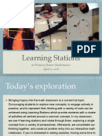 math learning stations presentation 2016 no video