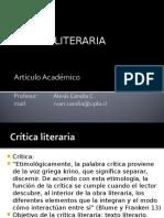 Clase II. Artículo Académico