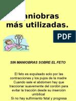 Maniobras en El Parto2009.