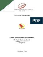 Derecho de Familia.