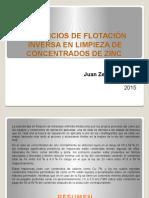 BENEFICIOS DE FLOTACIÓN INVERSA EN LIMPIEZA DE CONCENTRADOS  REVISION UNI (1).pptx