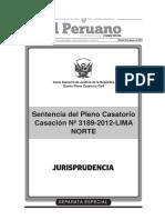 Quinto Pleno Casatorio Civil [Cas. Nº 3189-2012-Lima - Impugnación de Acuerdos Societarios]