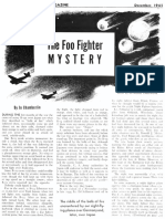 THE FOO FIGHTER MYSTERY by Jo Chamberlin