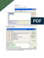 Instrucciones APU-Formato I