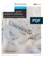 Modern Practices in Research