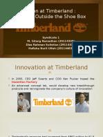 Innovation at Timberland