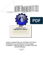 Informe de Laboratorio 1